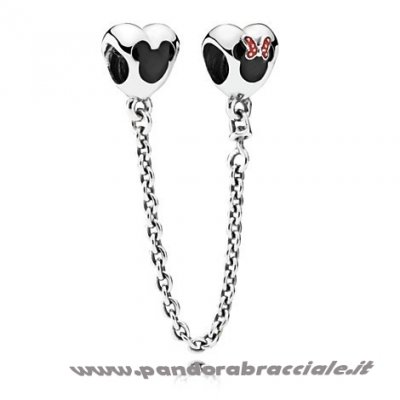 Pandora Italia Catene Di Sicurezza Mickey And Minnie Mouse Sicurezza Catena Net