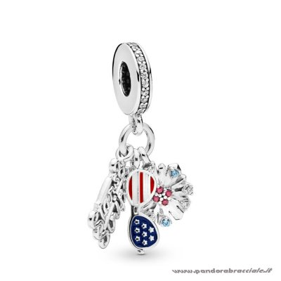 Pandora Italia American Icons Dangle Charm Net