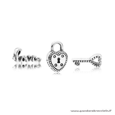 Pandora Italia Key To My Heart Petite Charm Pack Net