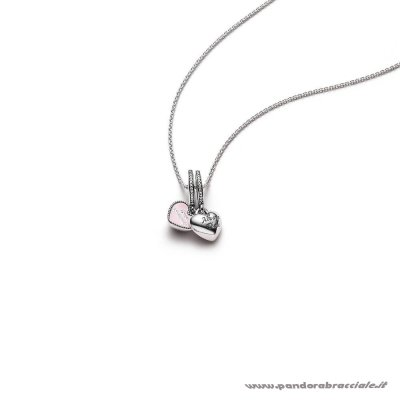 Pandora Italia Best Friends Pendant And Necklace Net
